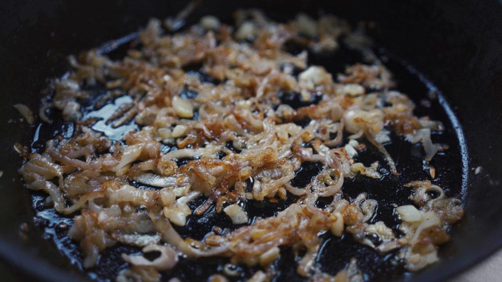 Liverwurst-onions