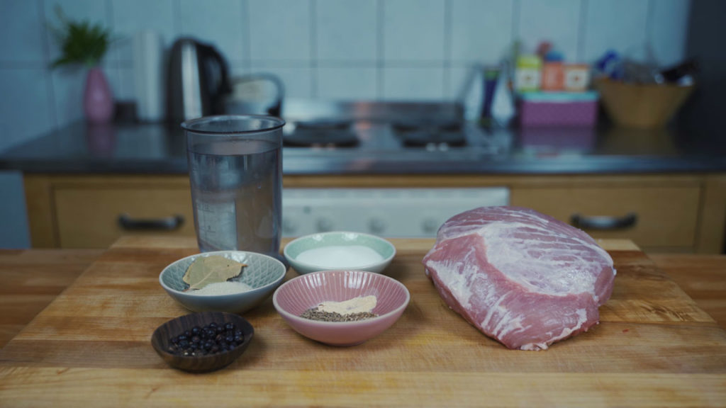 cooked ham-all ingredients
