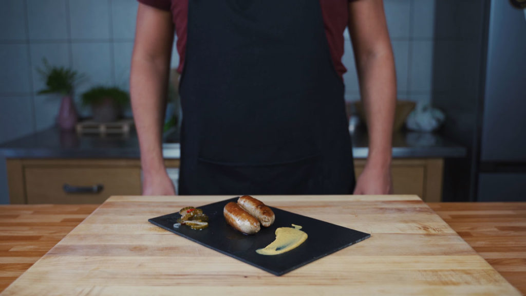 thuringian sausage -ready