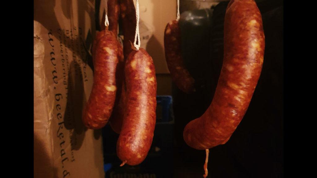 Spanish Chorizo-after 24h