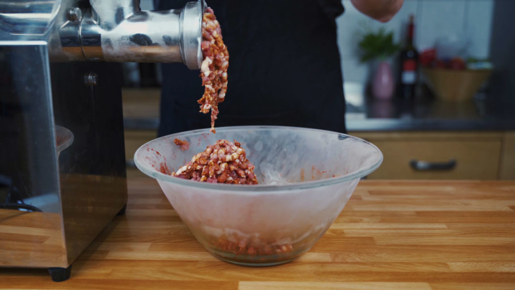Spanish Chorizo-grind meat