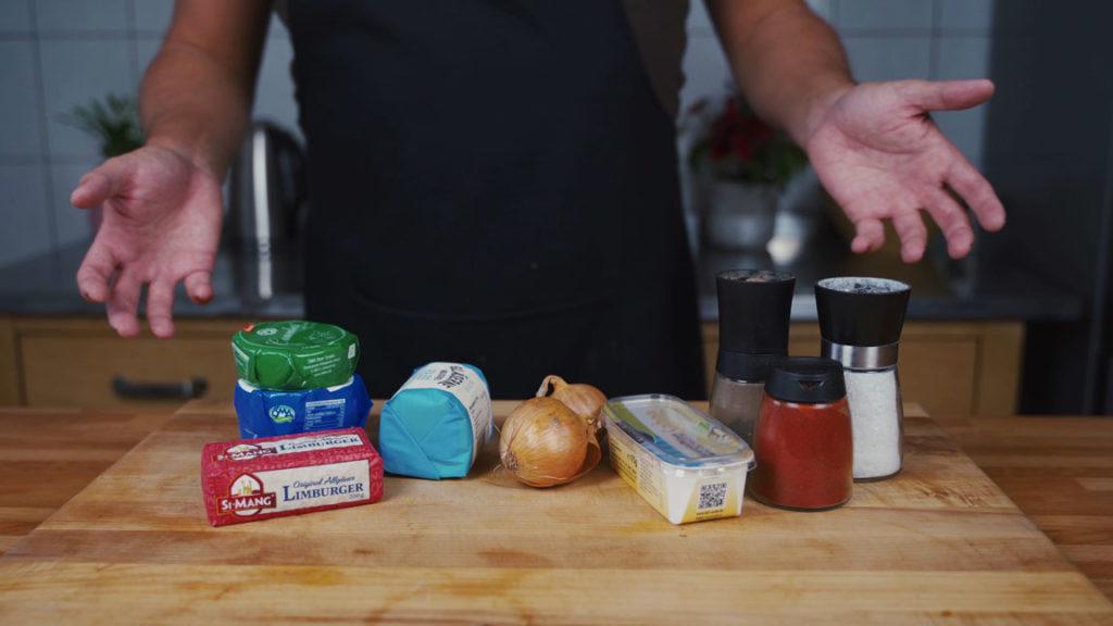 Obatzda-all ingredients