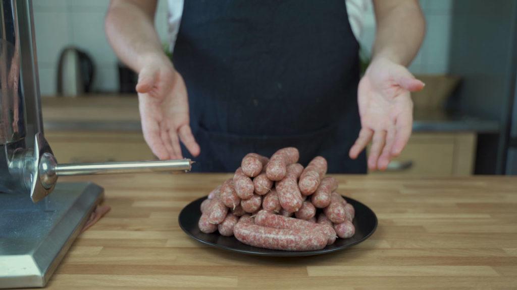 Nueremberg Sausage -cut links