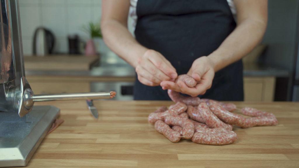 Nueremberg Sausage -needle