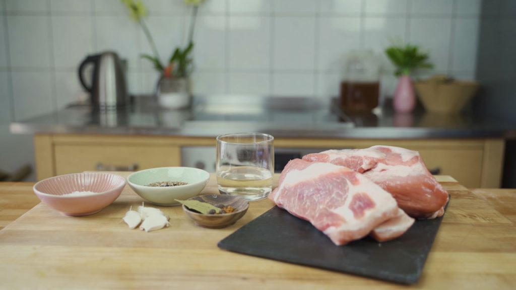 Salsiccia-all ingredients