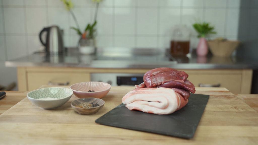Venison Sausage - all ingredients