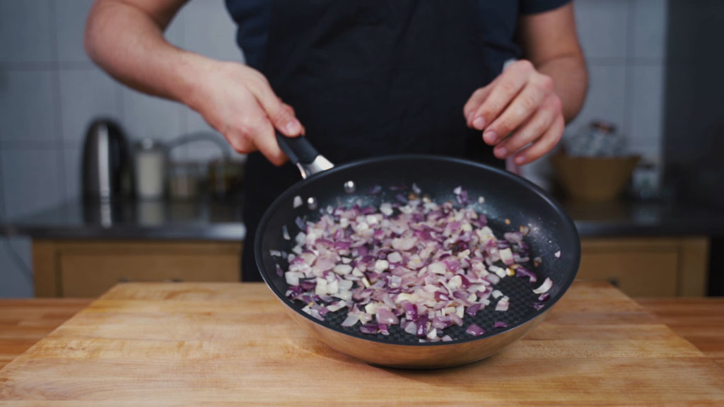 onion sausage - onions