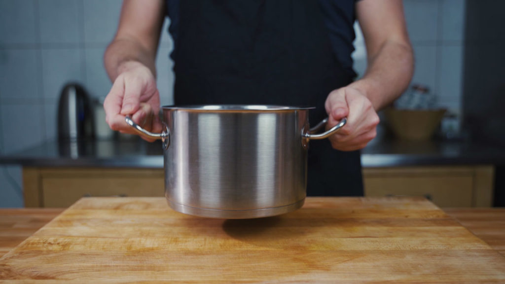 onion sausage - pot 2