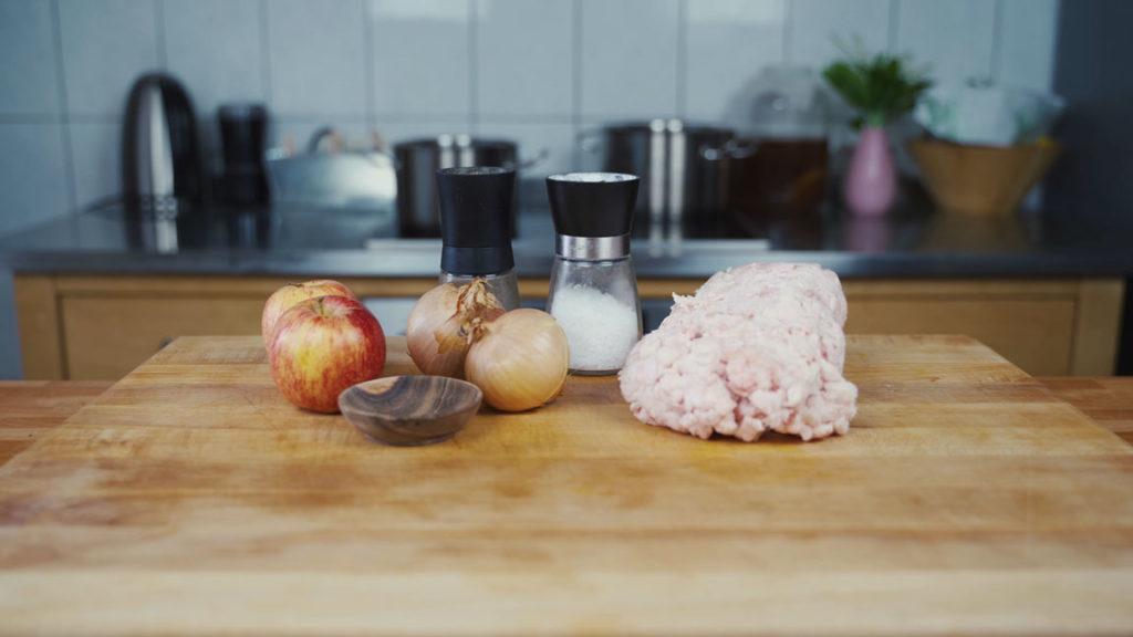 Griebenschmalz – all ingredients