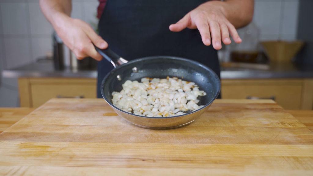 Pfälzer liverwurst-onions