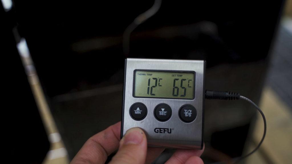 Bacon-temperature