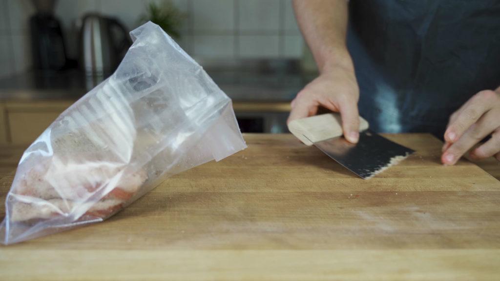 Bacon-vacuum bag