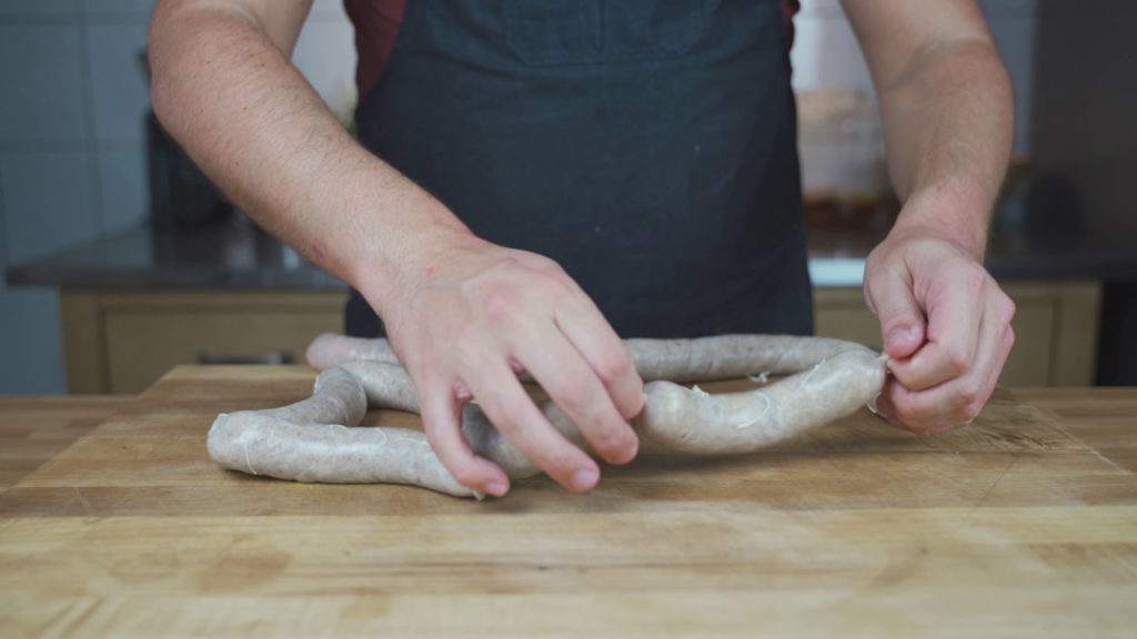 potato sausage - twist