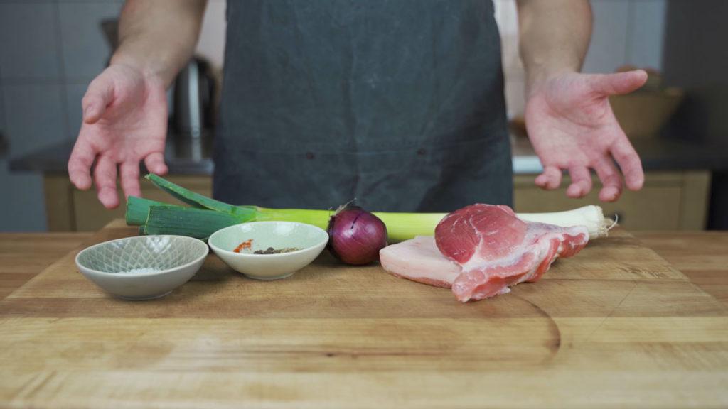 Loukaniko - all Ingredients