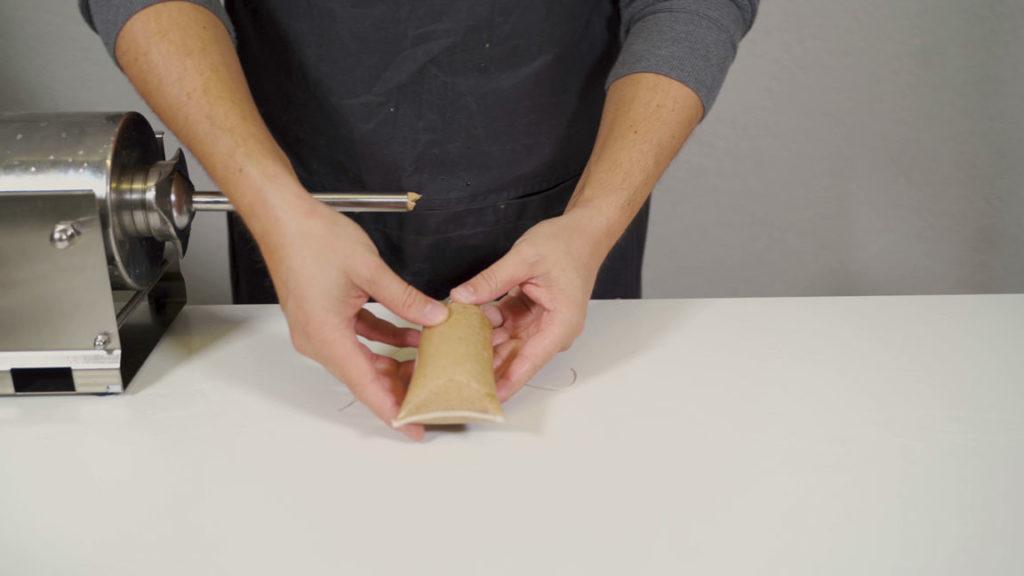 tea sausage - knot
