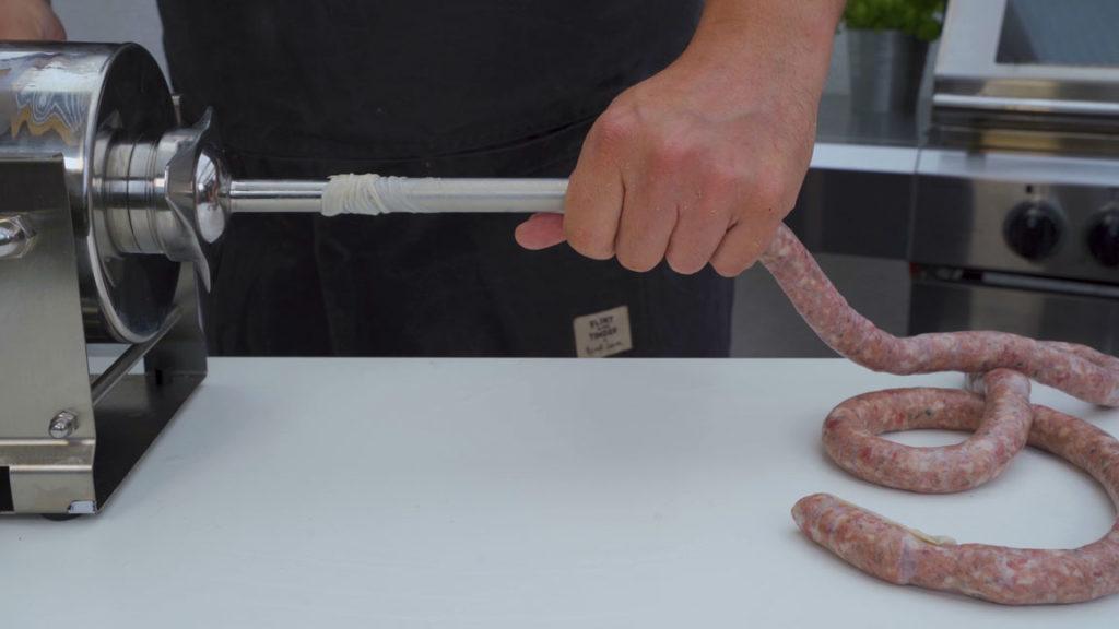wild boar sausage - fill