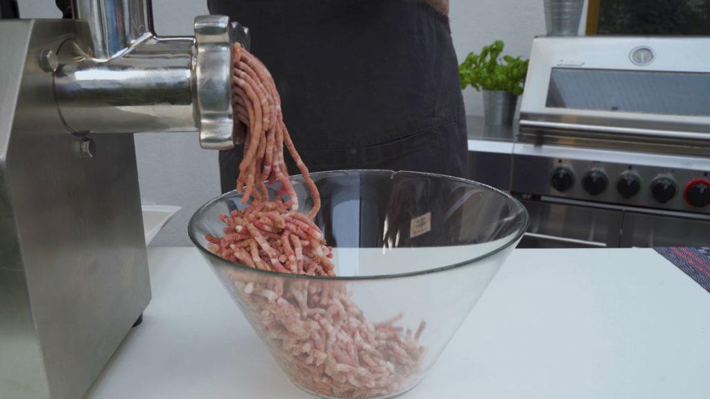 wild boar sausage - grind