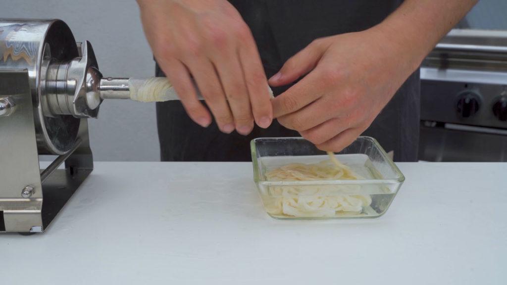 Cheese sausage-casing