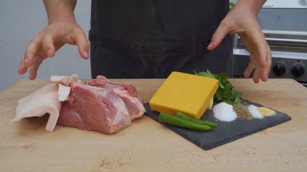 jalapeno cheddar sausage – all ingredients