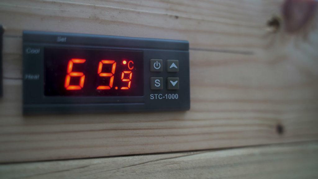 Fleischwurst-70 degrees