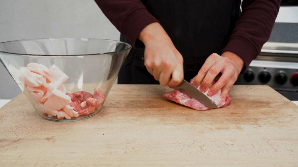 Fleischwurst-cut