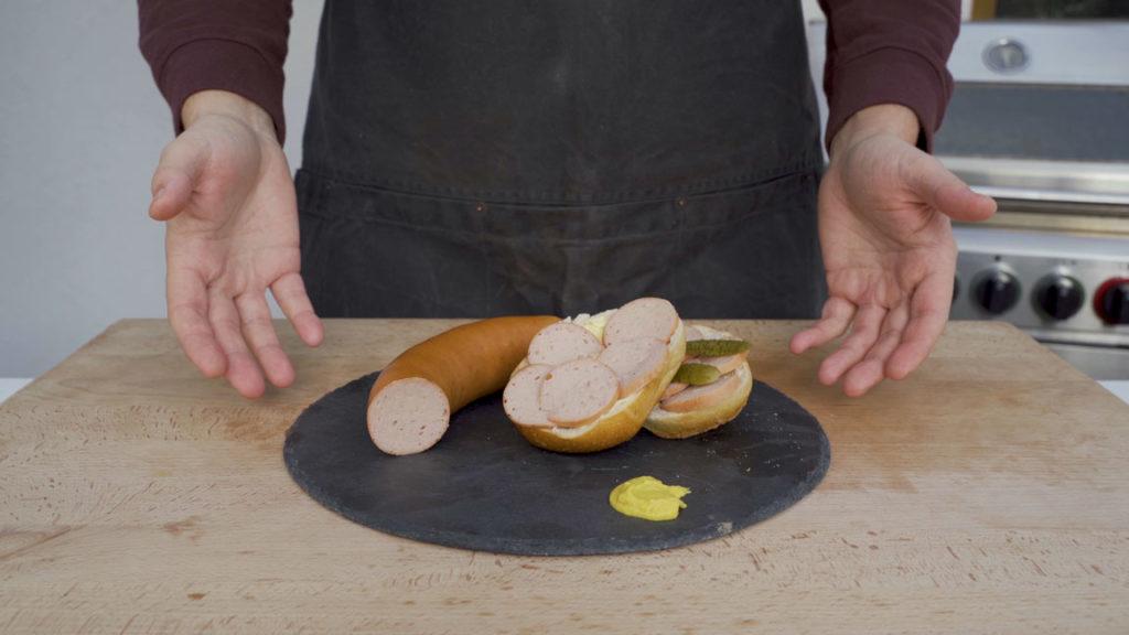 Fleischwurst-ready