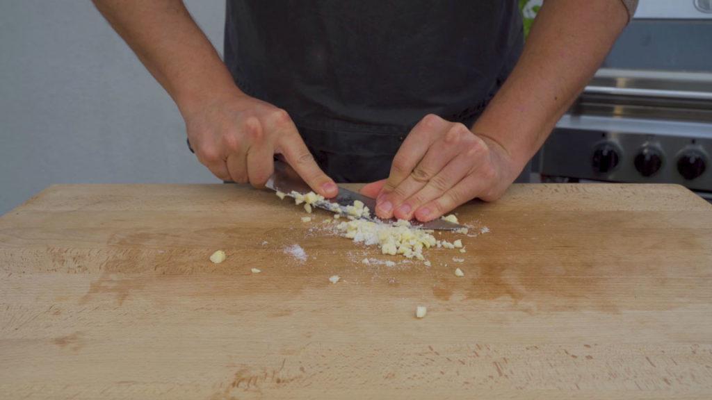 american Andouille - garlic