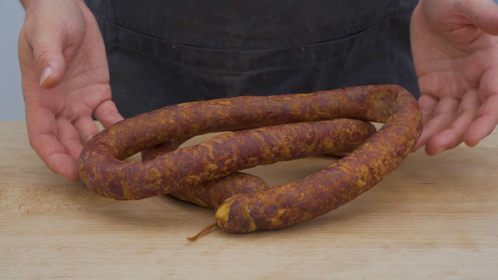 american Andouille - ready