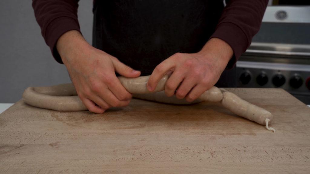 beef sausage-twist
